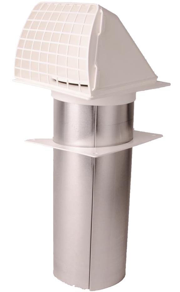 Plastic Wide Mouth Dryer Vent Hood